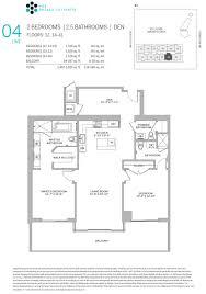Den Floor Plan Floor Plans Of Brickell City Centre Condo Miami