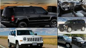 jeep patriot lifted jeep patriot all years and modifications with reviews msrp