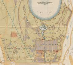 Royal Botanical Gardens Melbourne Map Royal Botanic Gardens Sydney Bicentenary Nsw State Archives
