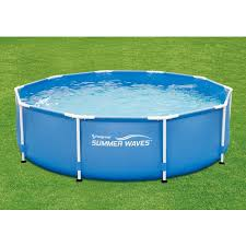 Intex Metal Frame Swimming Pools Summer Waves 10 U0027 X 30