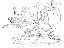 barbie mermaid coloring pages