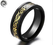 cincin tungsten carbide men s stainless steel rings ebay