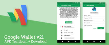 add reminder in android wallet v21 comes with cosmetic improvements prepares to