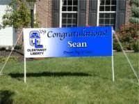 graduation signs graduation banners signarama powell ohio custom signs for