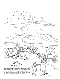 trail of tears coloring page eson me