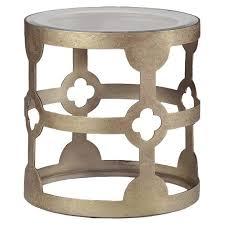 vintage gold side table furniture mason vintage gold side table