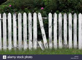 broken picket fence stock photo royalty free image 5143878 alamy