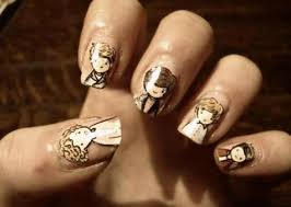 one direction nail art pictures photos of 1d nail designs