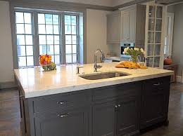 Black Kitchen Cabinets White Subway Tile Charcoal Grey Kitchen Cabinets Remodelaholic Kitchen Redo With