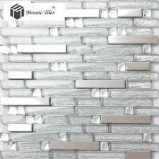 Ideas Black Silver Kitchen Tiles On Wwwweboolucom - Silver backsplash