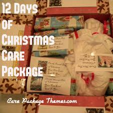 12 twelve days of christmas care package ideas my missionary