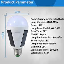 solar bulb lightled emergency bulbsolar panel powered light bulb