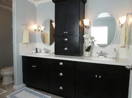 Bathroom Countertop Storage Bathroom Modern Bathroom Vanity With Marble Top With Black