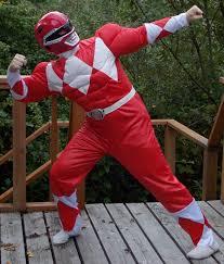 Power Ranger Halloween Costumes Red Power Ranger Costume Review Contest Corner