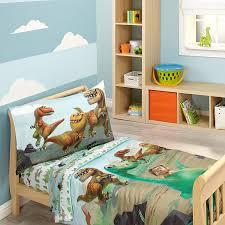 Dinosaur Bedding For Girls by Amazon Com Disney Prehistoric Footprints 4 Piece Toddler Bed Set