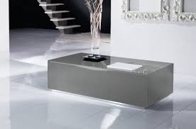 Modern Italian Coffee Tables Modern Italian Grey Glass Coffee Table