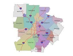 county map ga county map