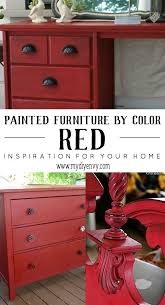 best 25 red painted furniture ideas on pinterest red kitchen