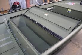 installed center bench seat seaark boats arkansas