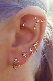 earrings on top of ear the 25 best rook piercing ideas on rook ear