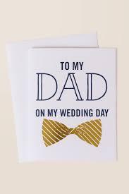 Wedding Day Card To My Dad On My Wedding Day Card Francesca U0027s