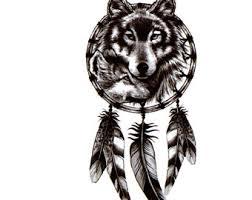 wolf etsy