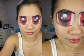 makeup powerpuff girls makeup tutorial halloween xin er