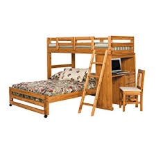 Bunk Beds Twin Over Full With Desk Amazon Com Chelsea Home Furniture 3611001 Twin Over Full Loft Bed
