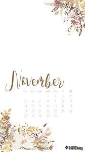 hello november calendar and printables