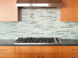 Glass Tiles Kitchen Backsplash by Clear Glass Subway Tile Backsplash Home Decorating Interior