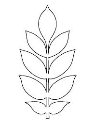 25 unique leaf template printable ideas on pinterest leaf
