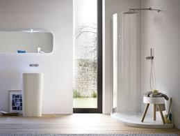 minimalist vanity shower glass panel for modern bathroom designoursign