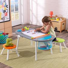 Play Table With Storage And Chairs Kids U0027 Table U0026 Chairs Sets Kidkraft