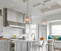 Glass Pendant Lighting Combining The Traditional Profile Of A Tapered Shade With On Trend