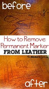 How To Remove Pen Marks From Leather Sofa by Best 25 Remove Permanent Marker Ideas On Pinterest Sharpie