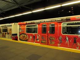Train Decor Typical Train Car Picture Of Skytrain Vancouver Tripadvisor