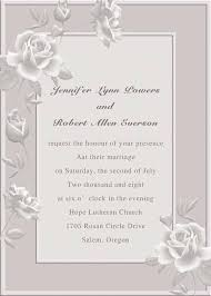 online marriage invitation grey floral inexpensive online wedding invitation