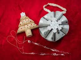 diy make 3 ornaments with recycled materials handmade