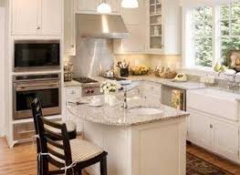 Small Kitchen With Island Design Emejing Small Kitchen Design Ideas With Island Photos