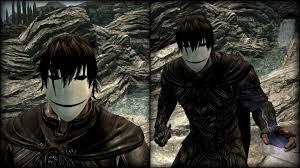 darker than black darker than black mask at skyrim nexus mods and community