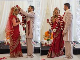 garland for indian wedding real wedding wednesday a modern twist in a traditional indian