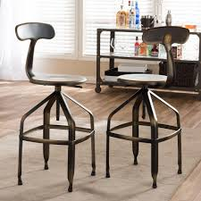 Vintage Industrial Bar Stool Kitchen Provides Rustic Charm To Your Bar Or Kitchen Area With