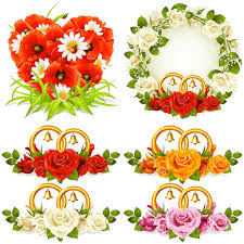 wedding flowers images free decoration clipart wedding flower pencil and in color decoration