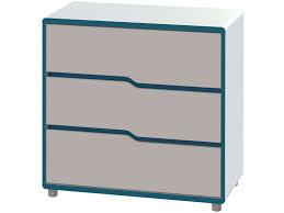 commode chambre garcon commode moby coloris blanc et bleu vente de commode enfant