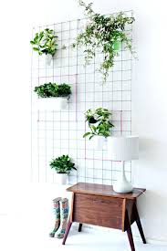 wall mounted planters diy balcony with concrete living wall