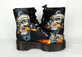 awesome motorcycle boots men shoes awesome skulls