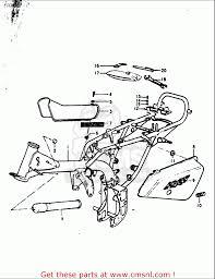 suzuki rv90 1972 j usa e03 frame schematic partsfiche