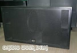 12 Inch Bass Cabinet Dual Bass Manufacturer From New Delhi