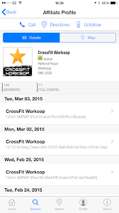 Crossfit Affiliate Map Wodlogger App Android U0026 Ios Crossfit App Affiliate Software