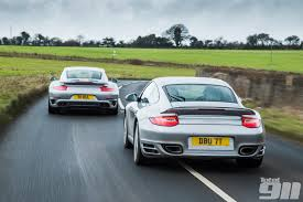 porsche 911 turbo s 997 porsche 991 v porsche 997 turbo s duel in issue 123 total 911